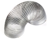 Spring toy slinky Stock Images