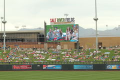 Spring Training at Salt River Fields, Arizona Royalty Free Stock Photography