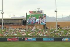 Spring Training at Salt River Fields, Arizona Royalty Free Stock Photography