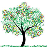 Spring Tree. An abstract illustration of a tree Stock Photography