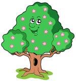 Spring tree in bloom. Vector illustration vector illustration