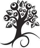 Spring Tree tattoo Stock Images