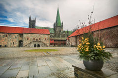Spring in Trondheim Royalty Free Stock Photo
