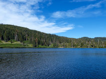 Spring Valley Lake. One of the High Lakes in Plumas County, California Stock Photos