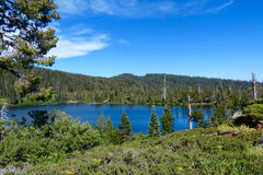 Spring Valley Lake. One of the High Lakes in Plumas County, California Royalty Free Stock Images