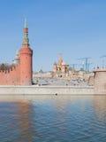 Spring on Vasilyevsky Spusk Royalty Free Stock Photo