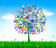 Spring vector background Royalty Free Stock Photo