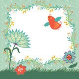 Spring Vector Background Stock Images