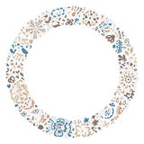 Spring vector doodle frame. Stock Images