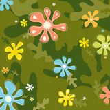 Spring vector flowers Royalty Free Stock Photo