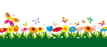 Spring vector illustration Stock Images