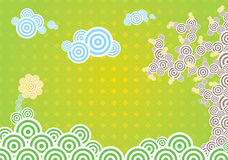 Spring vector illustration Royalty Free Stock Photos