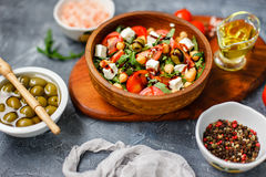 Spring vegetable salad Royalty Free Stock Photography