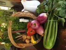 Spring Veggies Stock Photo