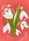 Spring vestive postcard Royalty Free Stock Images