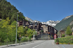 Spring view of Andorra Royalty Free Stock Photography