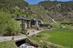 Spring view of Andorra Royalty Free Stock Photos