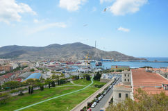 Spring view of Cartagena Royalty Free Stock Photography