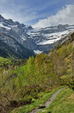 Spring view of the cirque of Gavarnie Royalty Free Stock Photos