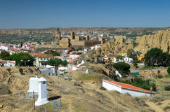 Spring view of Guadix Royalty Free Stock Photo