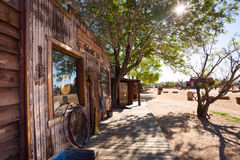 Spring view of the Pioneer town Stock Photography