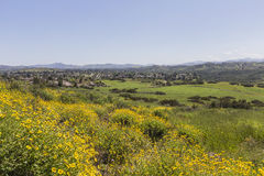 Spring view of Thousand Oaks California. Stock Image