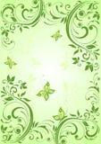 Spring vintage banner Stock Photo