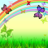 Spring vivid background Stock Images