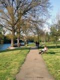 Spring on Vrbas. Spring on river Vrbas in Banja Luka, Bosnia and Herzegovina Stock Photos