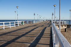On the pier Stock Photography