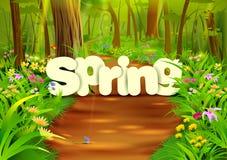 Spring wallpaper background Stock Photos