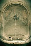 Spring water. Rome, Italy. Urban spring water Stock Photography