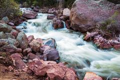 Spring Water Stream Stock Photography