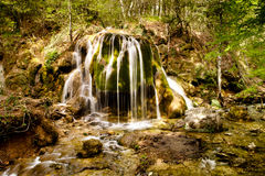 Spring waterfall Royalty Free Stock Photography