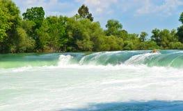 Spring waterfall Manavgat Stock Photos