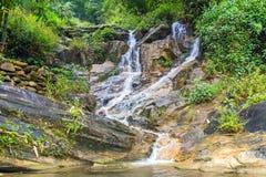 Spring Waterfall Tien Sa falls in Sapa Vietnam Stock Photography
