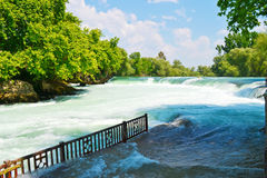 Spring waterfall in Turkey Royalty Free Stock Image