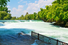 Spring waterfall in Turkey Stock Photo