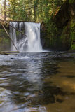 Spring waterfalls Stock Photo