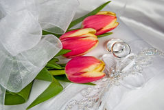 Spring Wedding Royalty Free Stock Photos