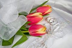 Spring Wedding Royalty Free Stock Photos