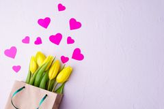 Spring welcoming, Valentine`s day, Mother`s day stock photography