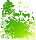 Spring wildlife in the country Stock Photo