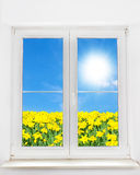 Spring window Royalty Free Stock Images