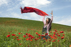 Spring Woman Royalty Free Stock Image