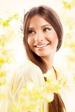 Spring woman Royalty Free Stock Photo
