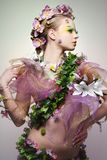 Spring woman. Royalty Free Stock Image