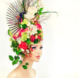 Spring woman. Stock Photo