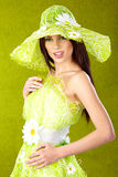 Spring woman portrait Royalty Free Stock Photography