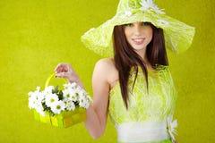 Spring woman portrait. Stock Images